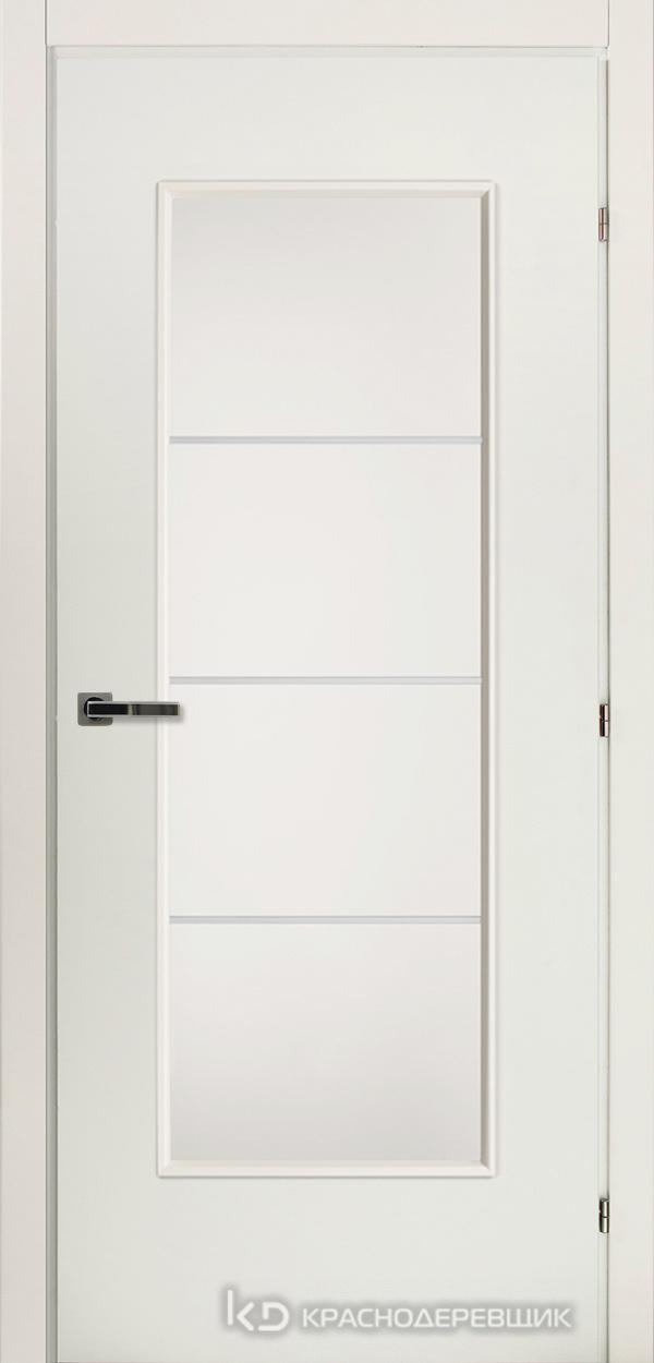 5000 БелыйCPL Дверь 5040М ДО 21- 9 (пр/л), с фурн., МатСтекло