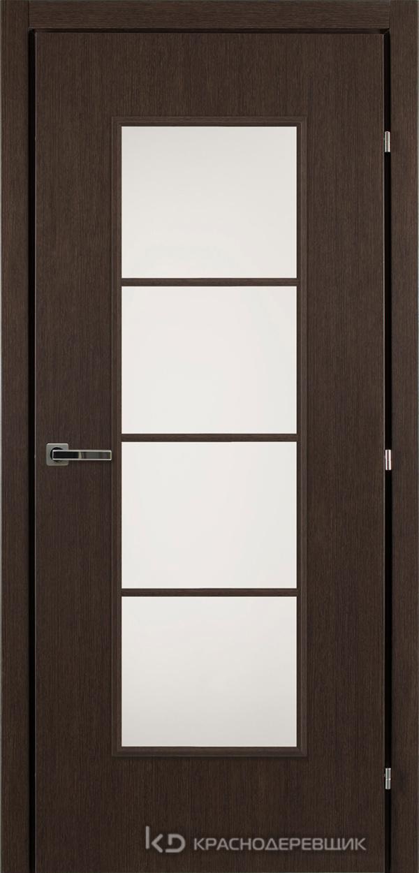 5000 ЧерныйДуб Дверь 5040 ДО 21- 9 (пр/л), с фурн., МатСтекло