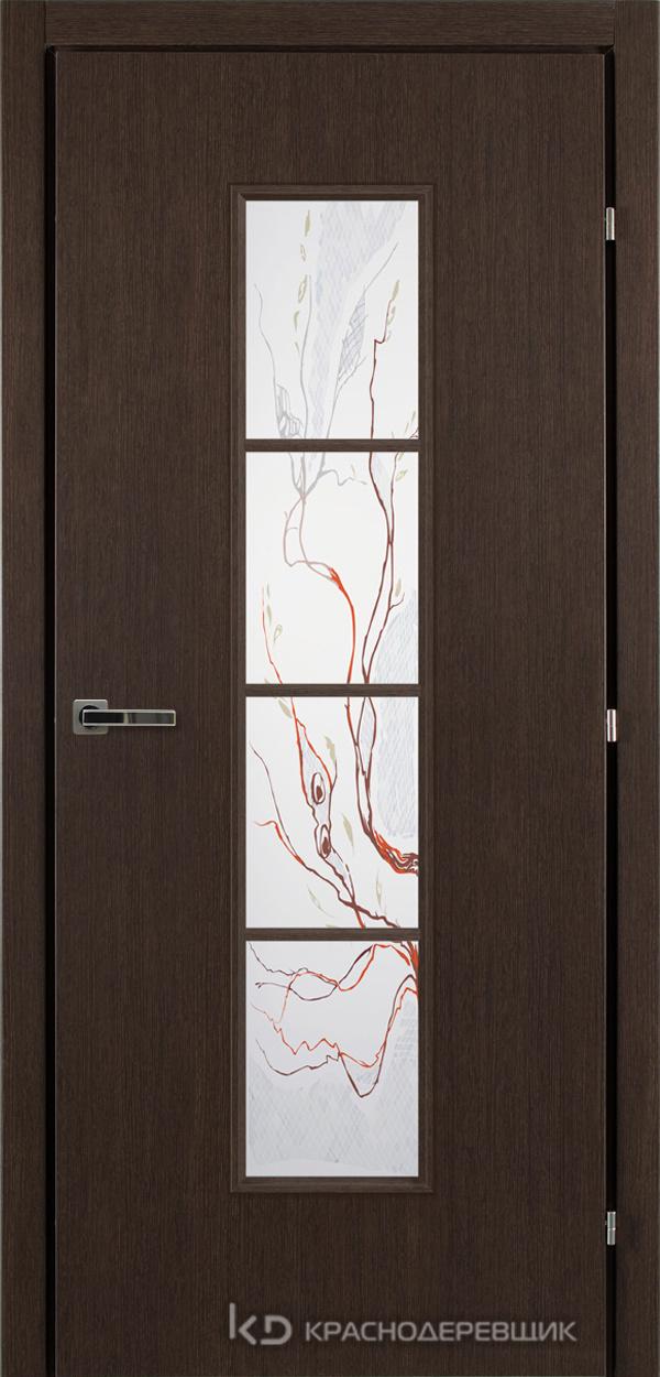 5000 ЧДуб Дверь 5066 ДО 21- 9 (пр/л), с фурн., Лиана