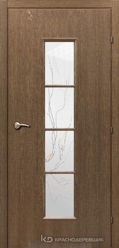 5000 ДубРиэльCPL Дверь 5066 ДО 21- 9 (пр/л), с фурн., стекло Лиана