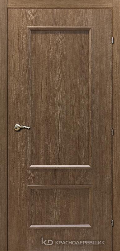 5000 ДубРиэльCPL Дверь 5023 ДГ 21- 9 (пр/л), с фурн.