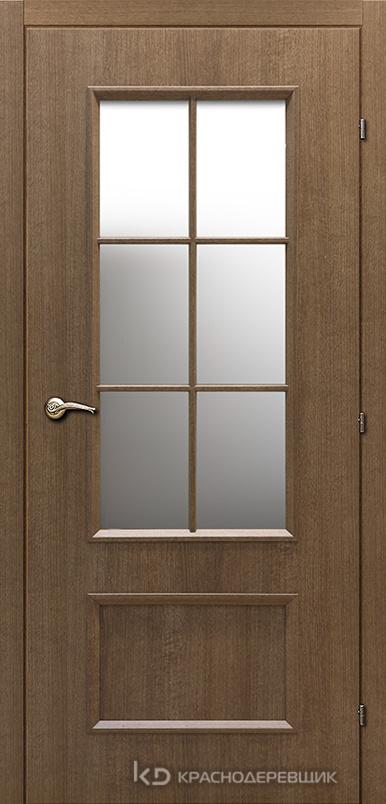 5000 ДубРиэльCPL Дверь 5024 ДО 21- 9 (пр/л), МатСтекло, с фурн.