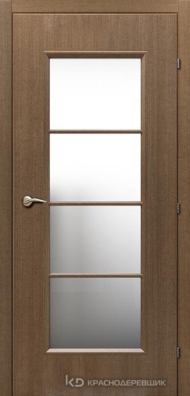 5000 ДубРиэльCPL Дверь 5040 ДО 21- 9 (пр/л), МатСтекло, с фурн.
