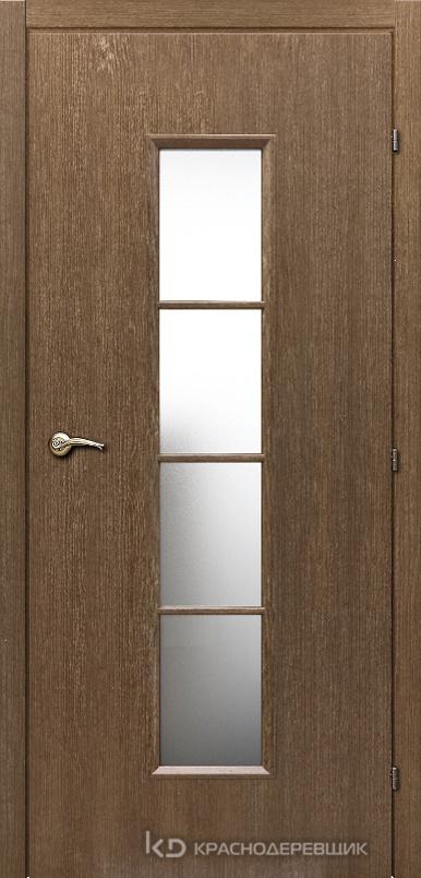 5000 ДубРиэльCPL Дверь 5066 ДО 21- 9 (пр/л), МатСтекло, с фурн.