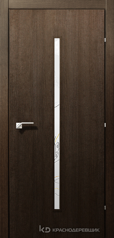 5000 ДубШервудCPL Дверь 5033 ДО 21- 9 (пр/л), с фурн., Лиа