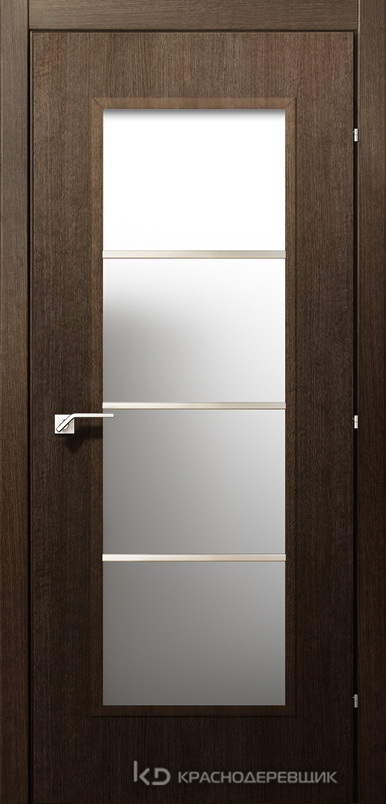 5000 ДубШервудCPL Дверь 5040М ДО 21- 9 (пр/л), с фурн., МатСтекло