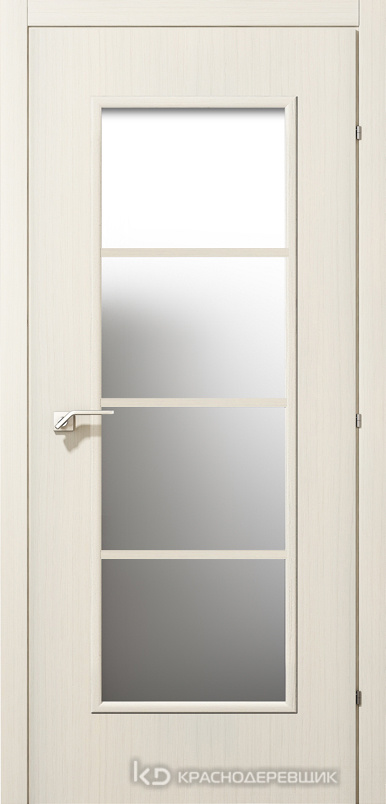 5000 ВыбеленныйДуб Дверь 5040 ДО 21- 9 (пр/л), с фурн., МатСтекло