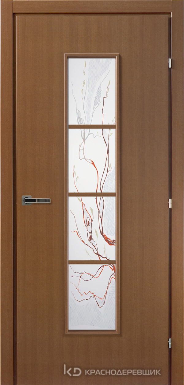 5000 ГрОрехCPL Дверь 5066 ДО 21- 9 (пр/л), с фурн., Лиана