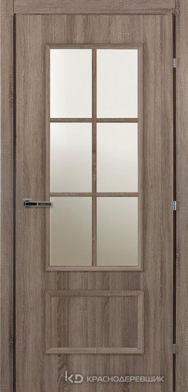 5000 Сонома Дверь 5024 ДО 21- 9 (пр/л), МатСтекло, с фурн.