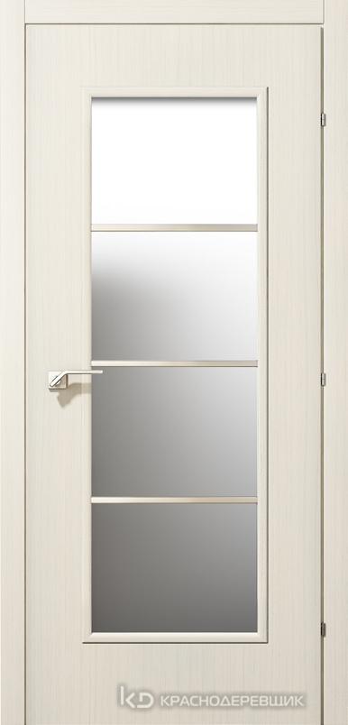 5000 ВыбеленныйДуб Дверь 5040М ДО 21- 9 (пр/л), с фурн., МатСтекло