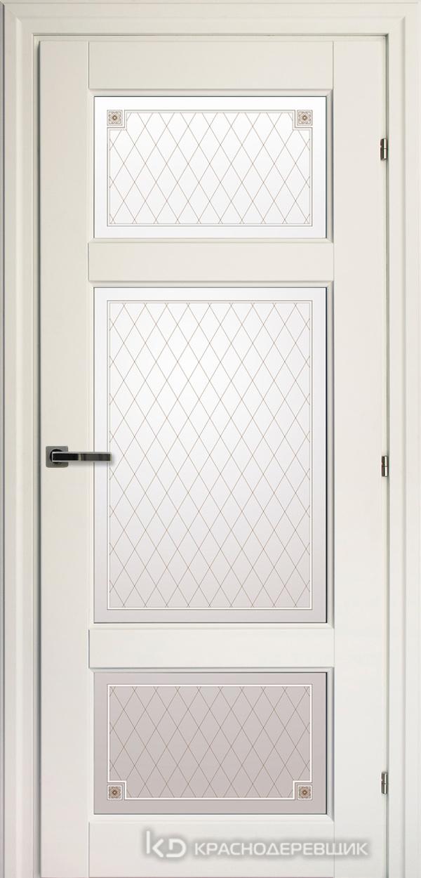 6000 Белый CPL Дверь 6342 ДО 21- 9 (пр/л), с фурн., Стекло Пико