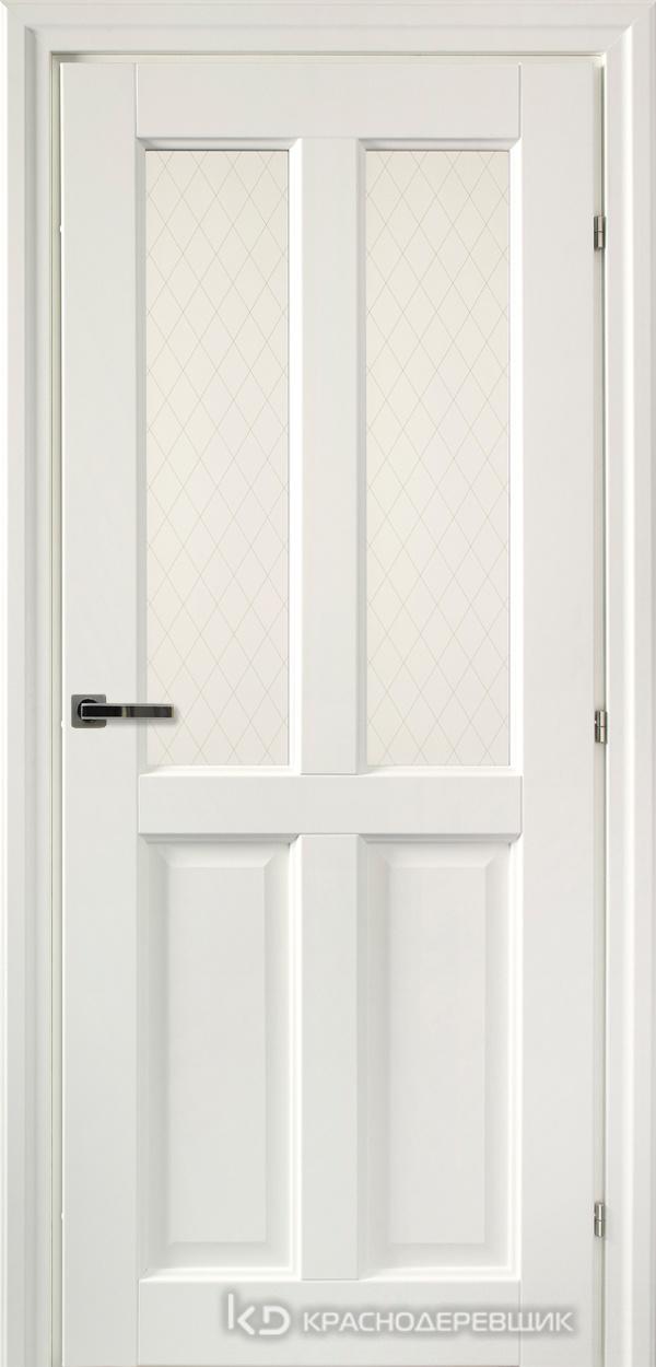 6000 Белый CPL Дверь 6346 ДО 21- 9 (пр/л), с фурн., Стекло Пико