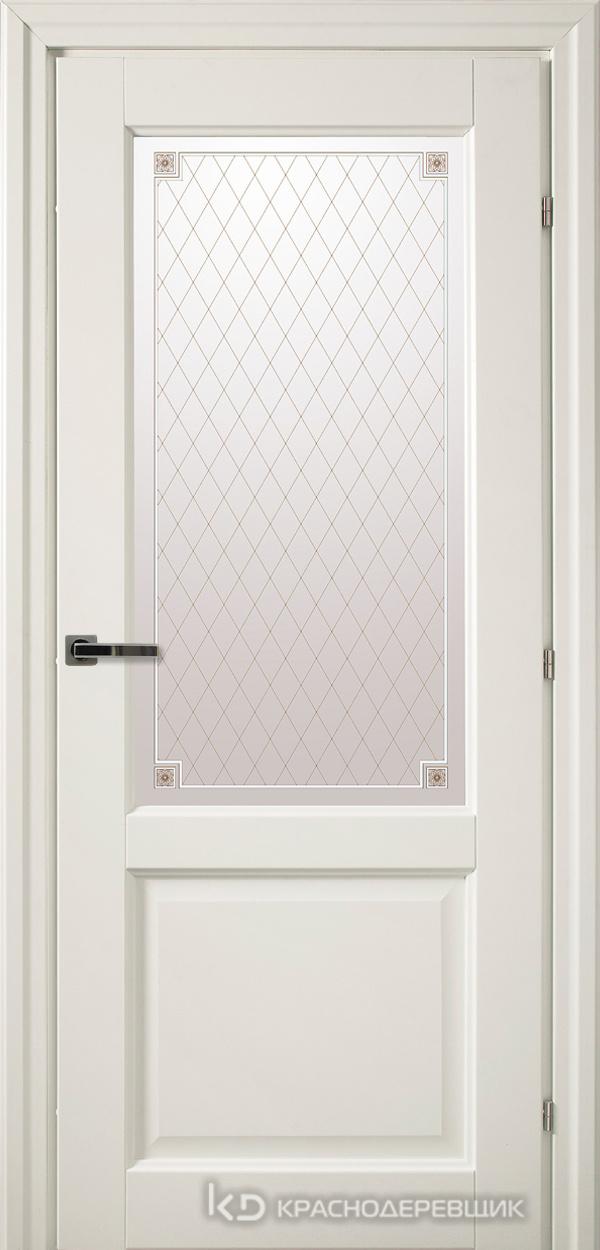 6000 Белый CPL Дверь 6324 ДО 21- 9 (пр/л), с фурн., Стекло Пико