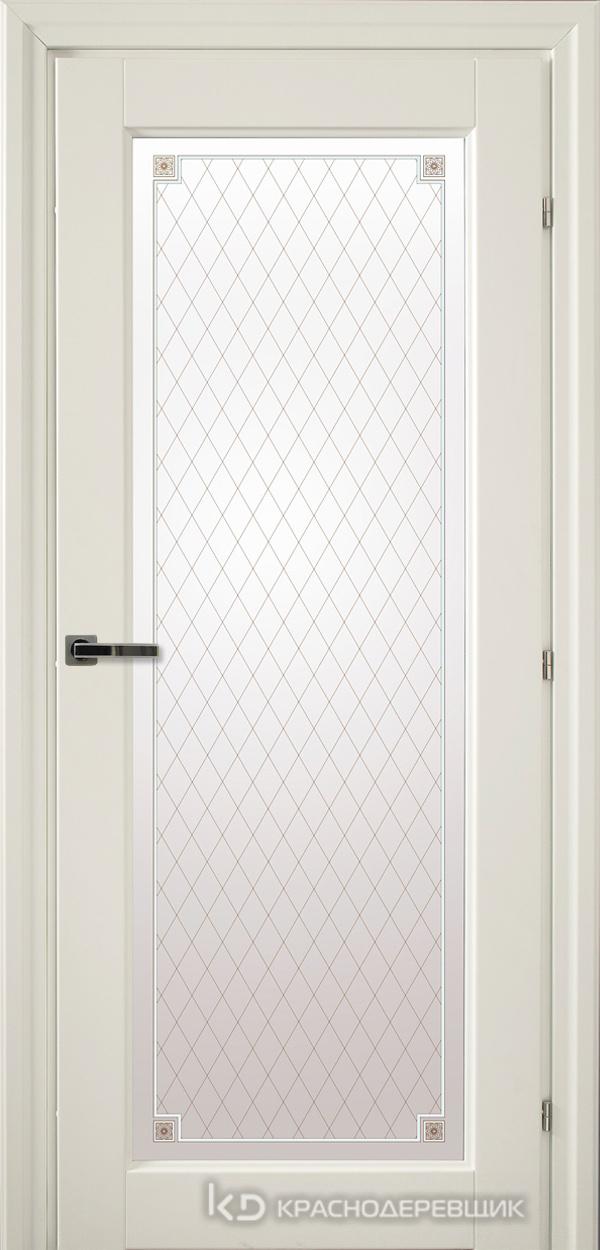 6000 Белый CPL Дверь 6340 ДО 21- 9 (пр/л), с фурн., Стекло Пико