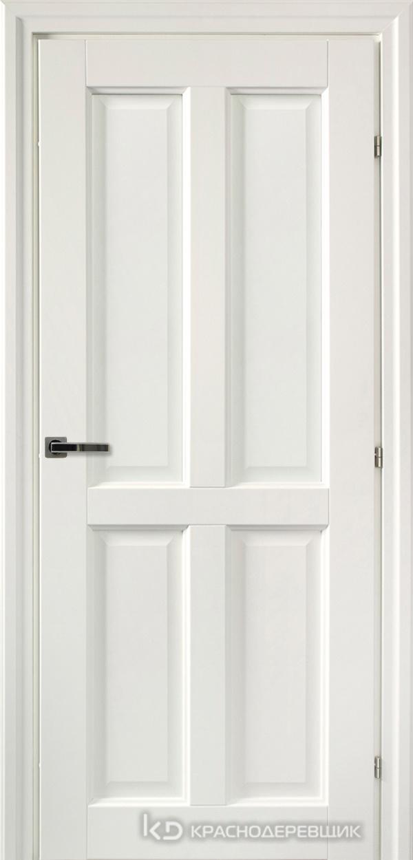 6000 Белый CPL Дверь 6344 ДГ 21- 9 (пр/л), с фурн.