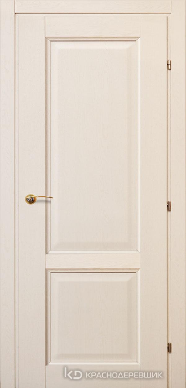 6000 ДубБелый с патинойПП Дверь 6323 ДГ 21- 9 (пр/л), с фурн.