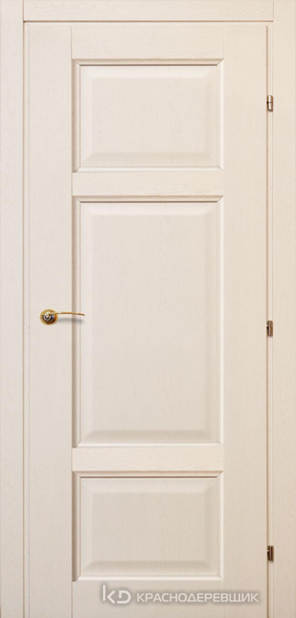 6000 ДубБелый с патинойПП Дверь 6343 ДГ 21- 9 (пр/л), с фурн.