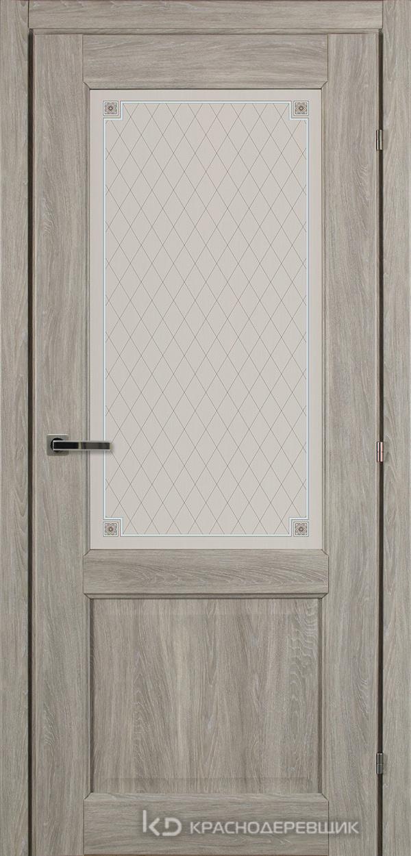 6000 ДубПепельныйS Дверь 6324 ДО 21- 9 (пр/л), с фурн., Стекло Пико