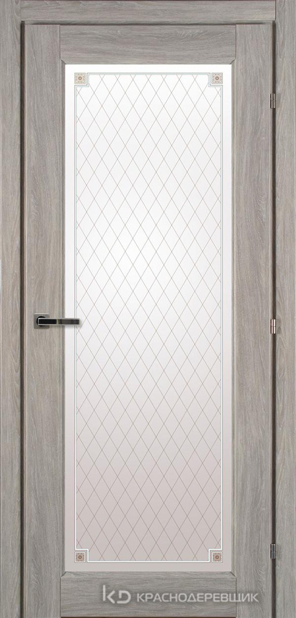 6000 ДубПепельныйS Дверь 6340 ДО 21- 9 (пр/л), с фурн., Стекло Пико