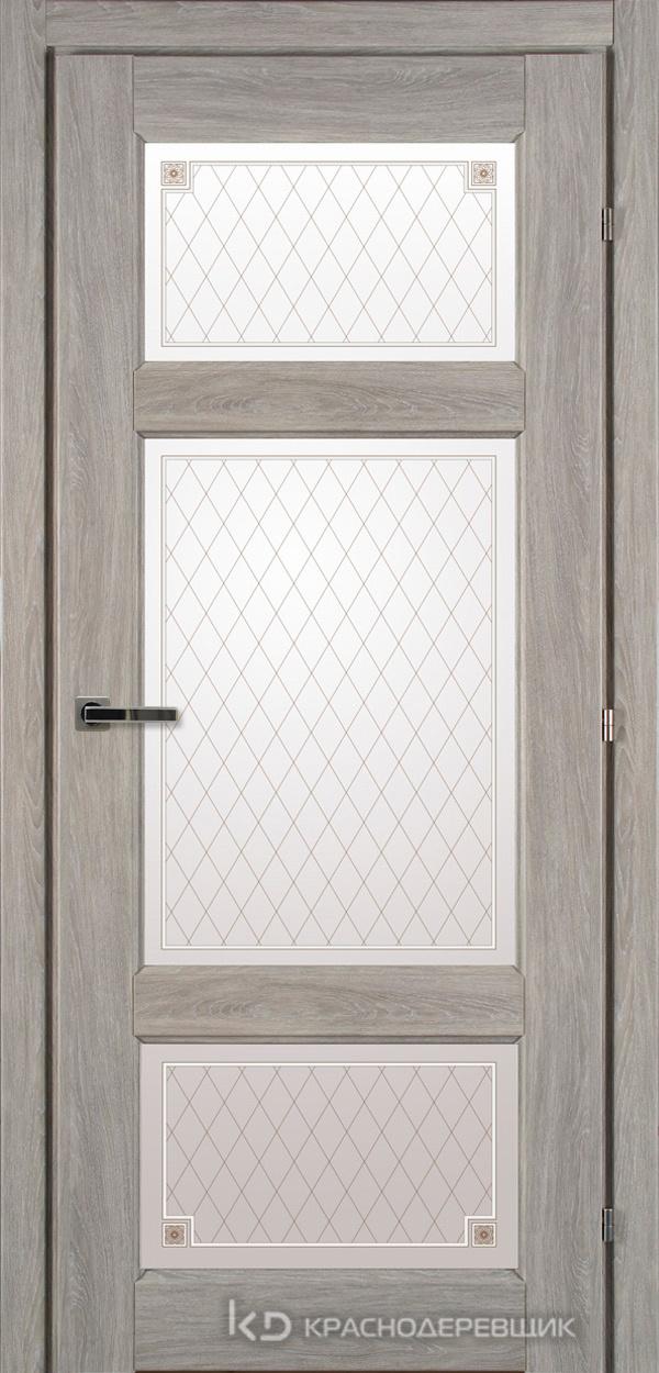 6000 ДубПепельныйS Дверь 6342 ДО 21- 9 (пр/л), с фурн., Стекло Пико