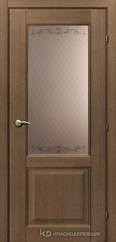 6000 РиэльCPL Дверь 6324 ДО 21- 9 (пр/л), с фурн., Стекло Кружевное