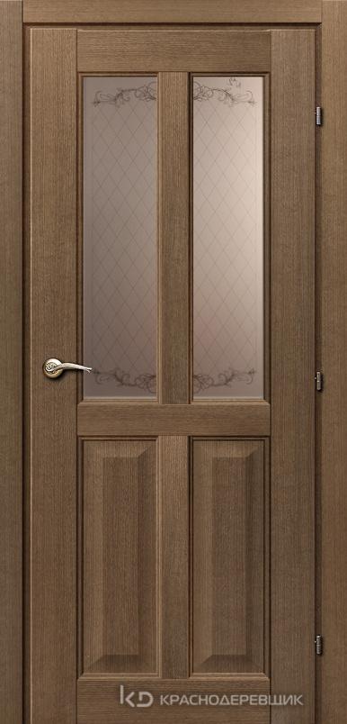 6000 РиэльCPL Дверь 6346 ДО 21- 9 (пр/л), с фурн., Стекло Кружевное