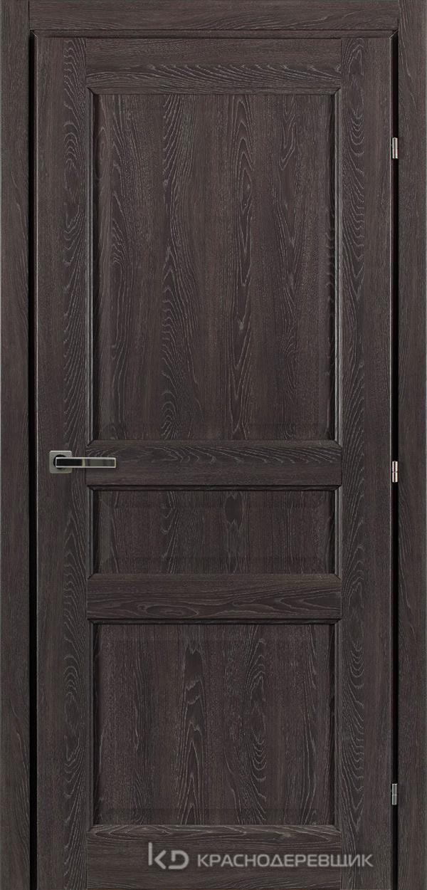 6000 ДубШварцS Дверь 6333 ДГ 21- 9 (пр/л), с фурн.