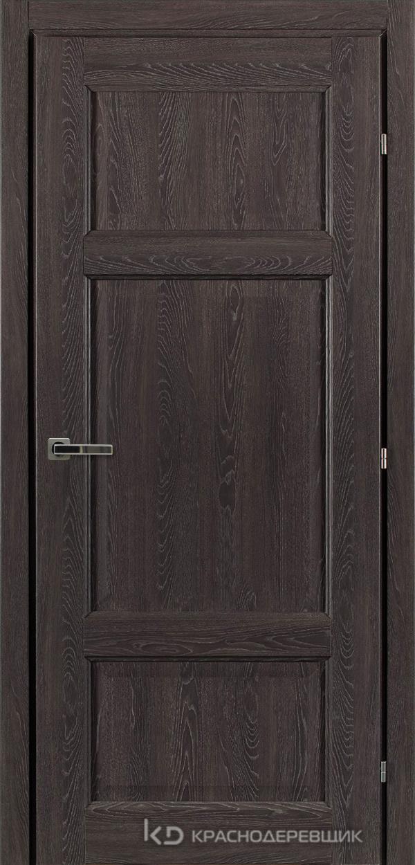 6000 ДубШварцS Дверь 6343 ДГ 21- 9 (пр/л), с фурн.