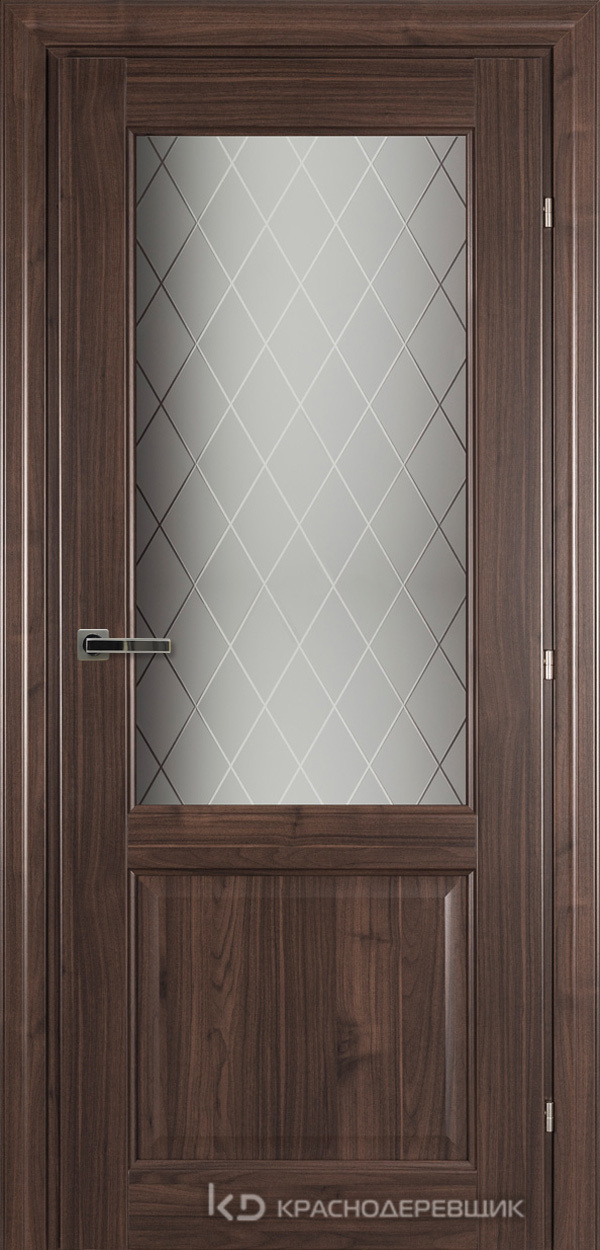 6000 Ноче дуглас CPL Дверь 6324 ДО 21- 9 (пр/л), с фурн., Стекло Кристалл