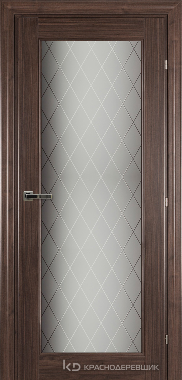 6000 Ноче дуглас CPL Дверь 6340 ДО 21- 9 (пр/л), с фурн., Стекло Кристалл