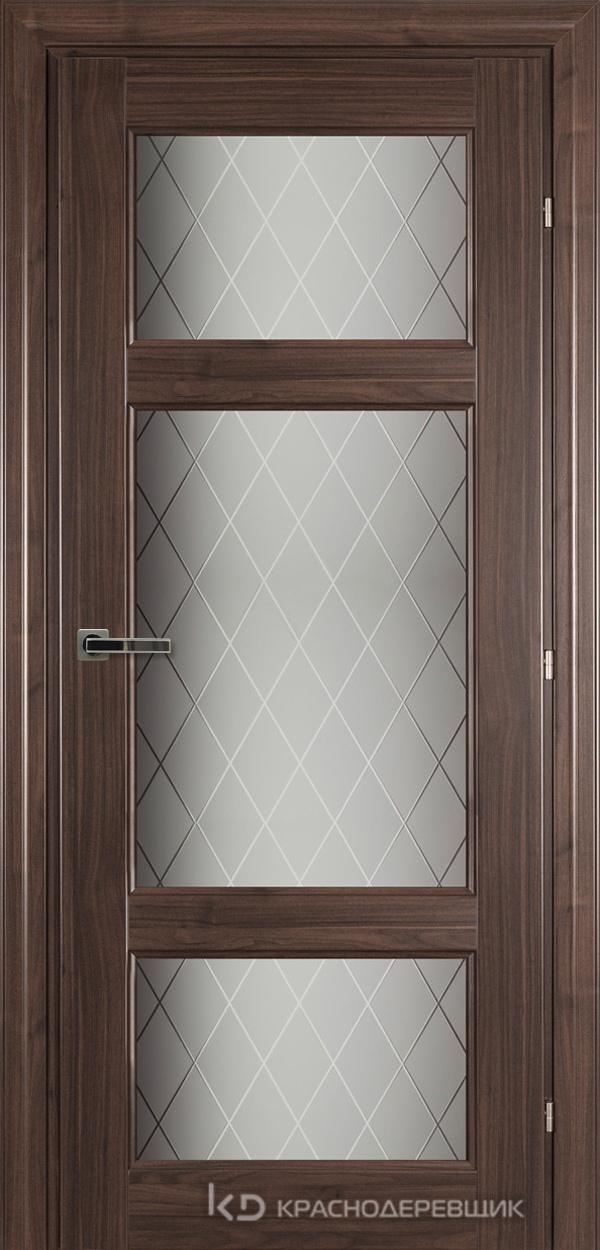6000 Ноче дуглас CPL Дверь 6342 ДО 21- 9 (пр/л), с фурн., Стекло Кристалл