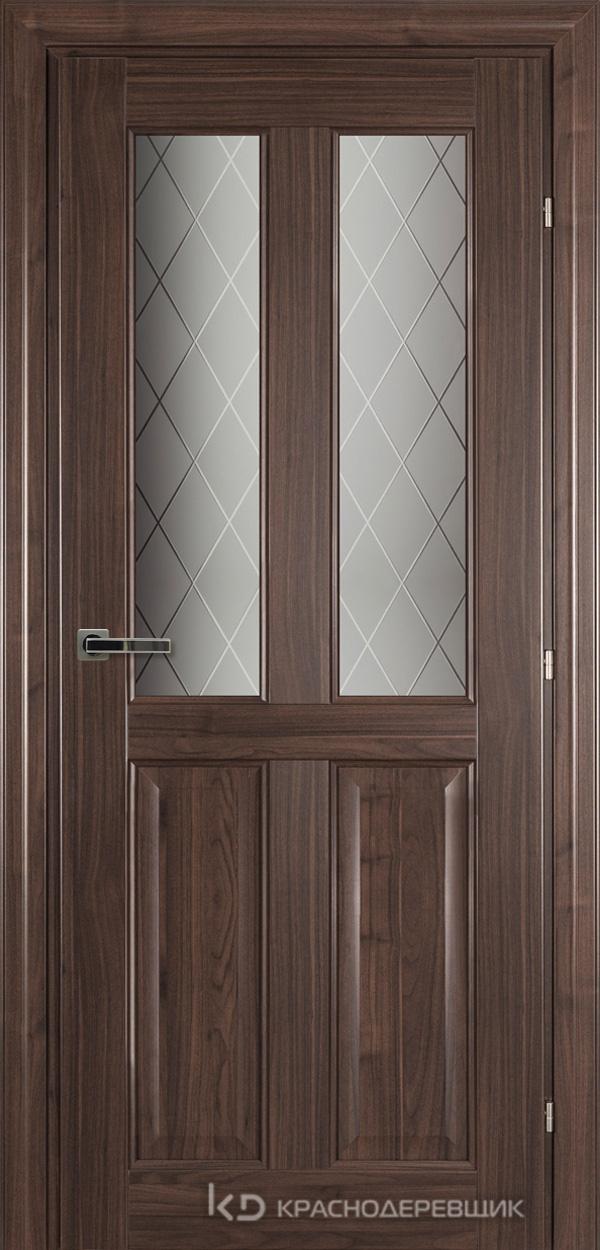 6000 Ноче дуглас CPL Дверь 6346 ДО 21- 9 (пр/л), с фурн., Стекло Кристалл