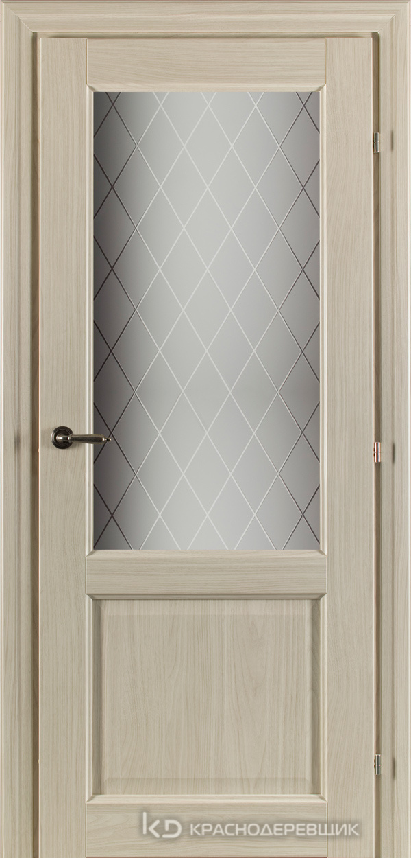 6000 Ноче соренто CPL Дверь 6324 ДО 21- 9 (пр/л), с фурн., Стекло Кристалл