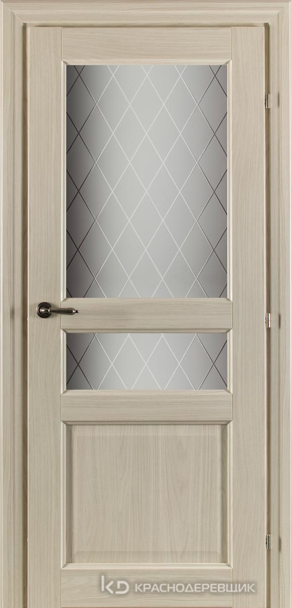 6000 Ноче соренто CPL Дверь 6334 ДО 21- 9 (пр/л), с фурн., Стекло Кристалл