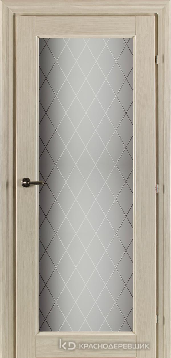 6000 Ноче соренто CPL Дверь 6340 ДО 21- 9 (пр/л), с фурн., Стекло Кристалл