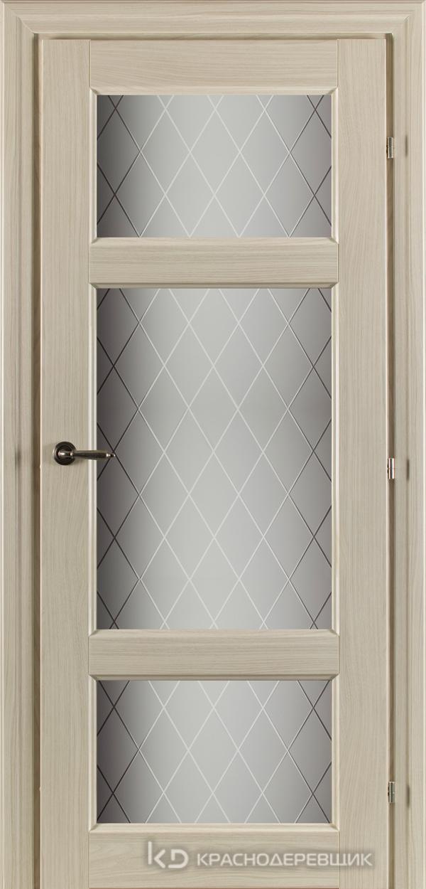 6000 Ноче соренто CPL Дверь 6342 ДО 21- 9 (пр/л), с фурн., Стекло Кристалл