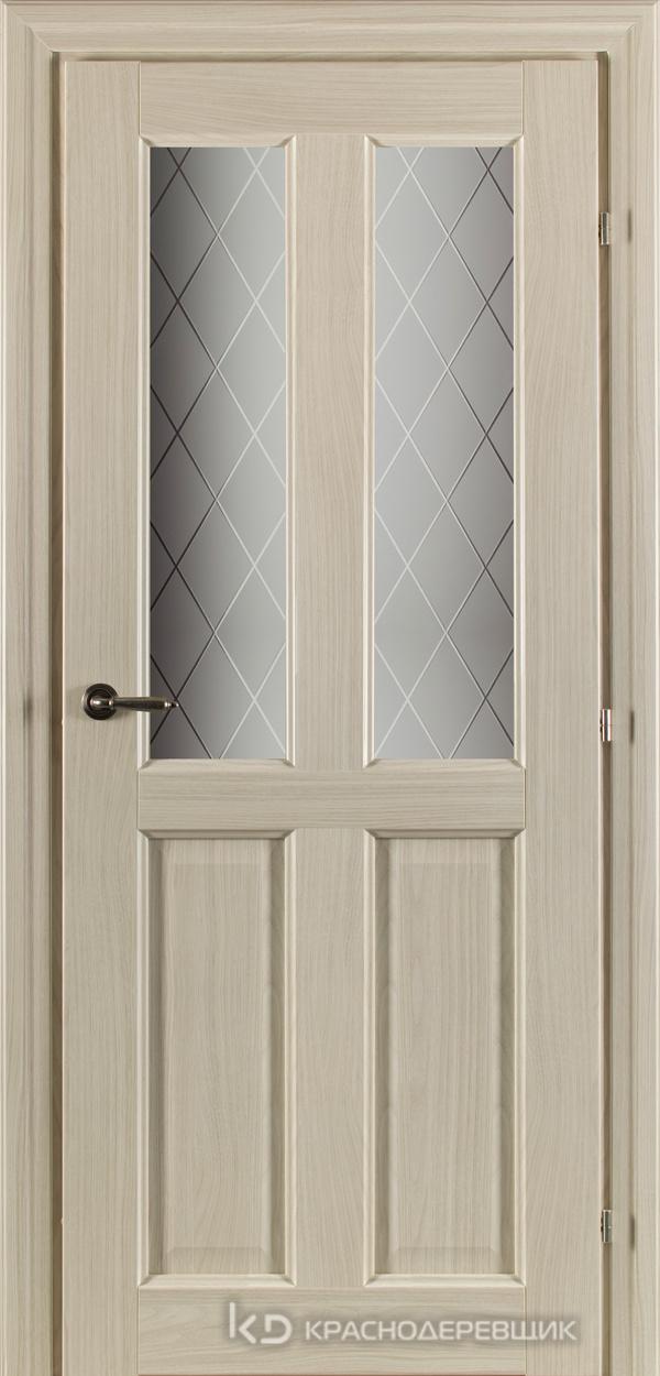 6000 Ноче соренто CPL Дверь 6346 ДО 21- 9 (пр/л), с фурн., Стекло Кристалл