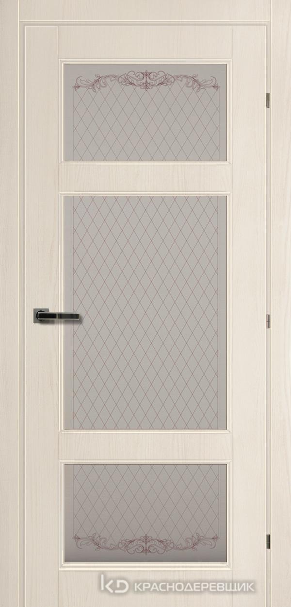 6000 Ольм Лучи CPL Дверь 6342 ДО 21- 9 (пр/л), с фурн., Стекло Кристалл