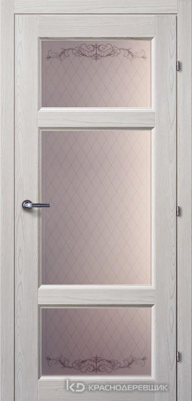 6000 ПИНИЯ Дверь 6342 ДО 21- 9 (пр/л), с фурн., Стекло Кружево