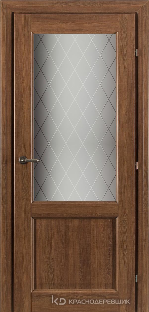 6000 Ровере сегата CPL Дверь 6324 ДО 21- 9 (пр/л), с фурн., Стекло Кристалл