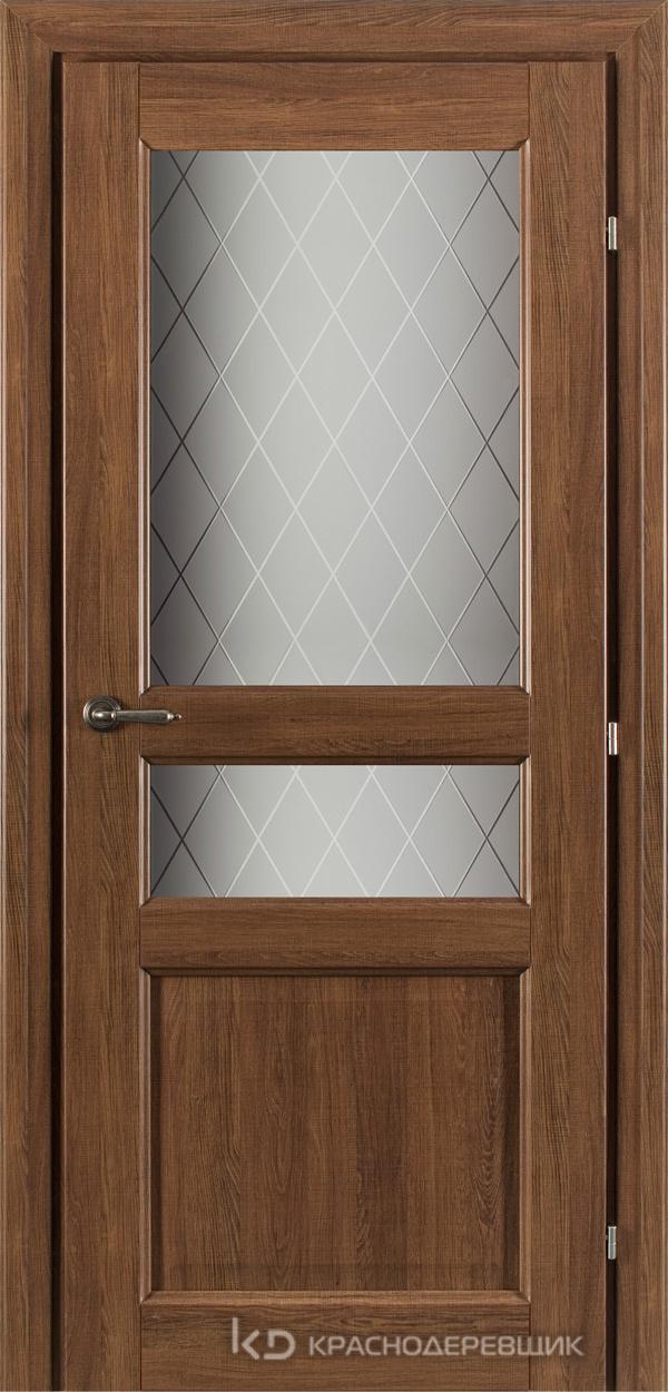 6000 Ровере сегата CPL Дверь 6334 ДО 21- 9 (пр/л), с фурн., Стекло Кристалл