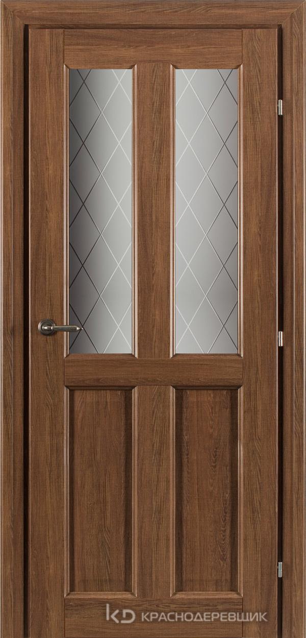 6000 Ровере сегата CPL Дверь 6346 ДО 21- 9 (пр/л), с фурн., Стекло Кристалл