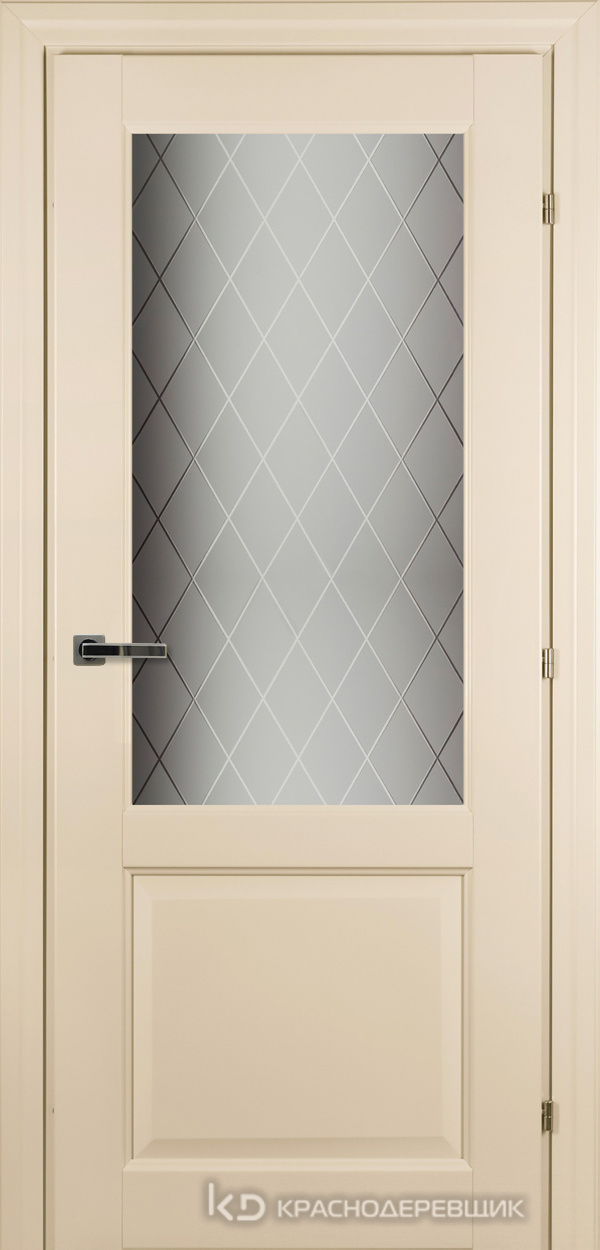 6000 Санжан CPL Дверь 6324 ДО 21- 9 (пр/л), с фурн., Стекло Кристалл