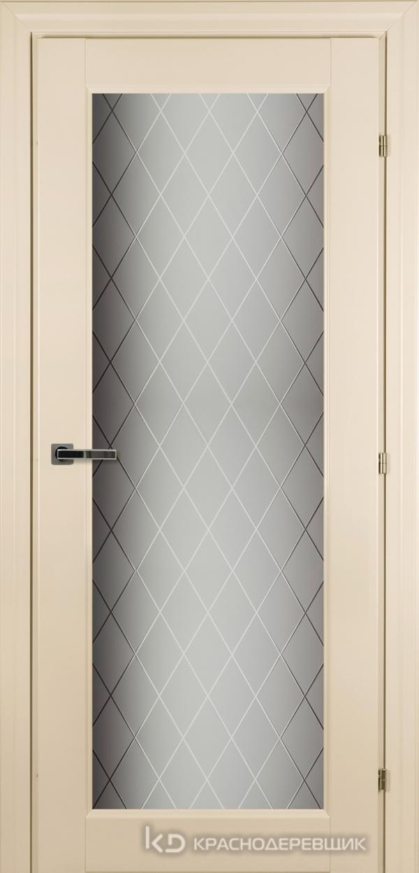6000 Санжан CPL Дверь 6340 ДО 21- 9 (пр/л), с фурн., Стекло Кристалл