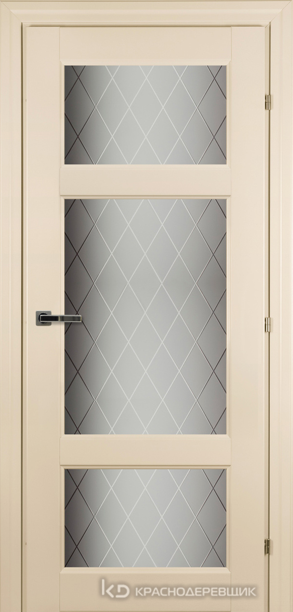 6000 Санжан CPL Дверь 6342 ДО 21- 9 (пр/л), с фурн., Стекло Кристалл