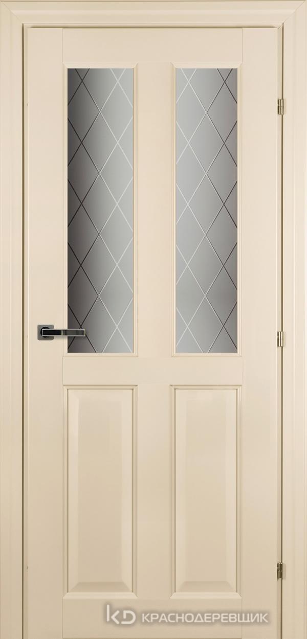 6000 Санжан CPL Дверь 6346 ДО 21- 9 (пр/л), с фурн., Стекло Кристалл