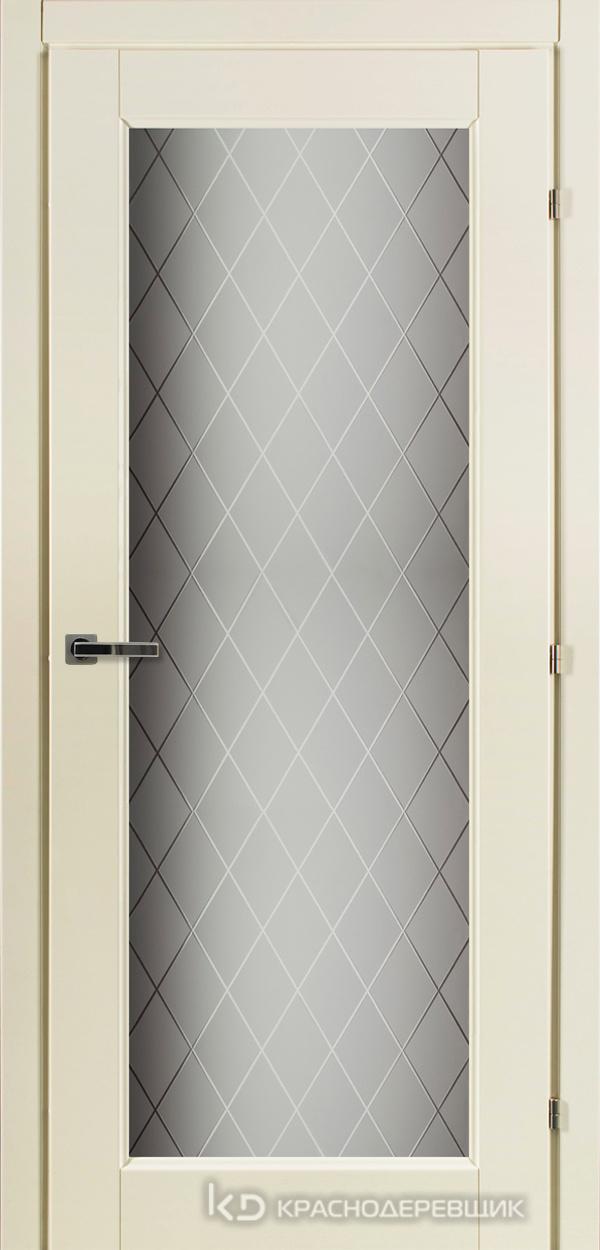 6000 Слоновая Кость CPL Дверь 6340 ДО 21- 9 (пр/л), с фурн., Стекло Кристалл
