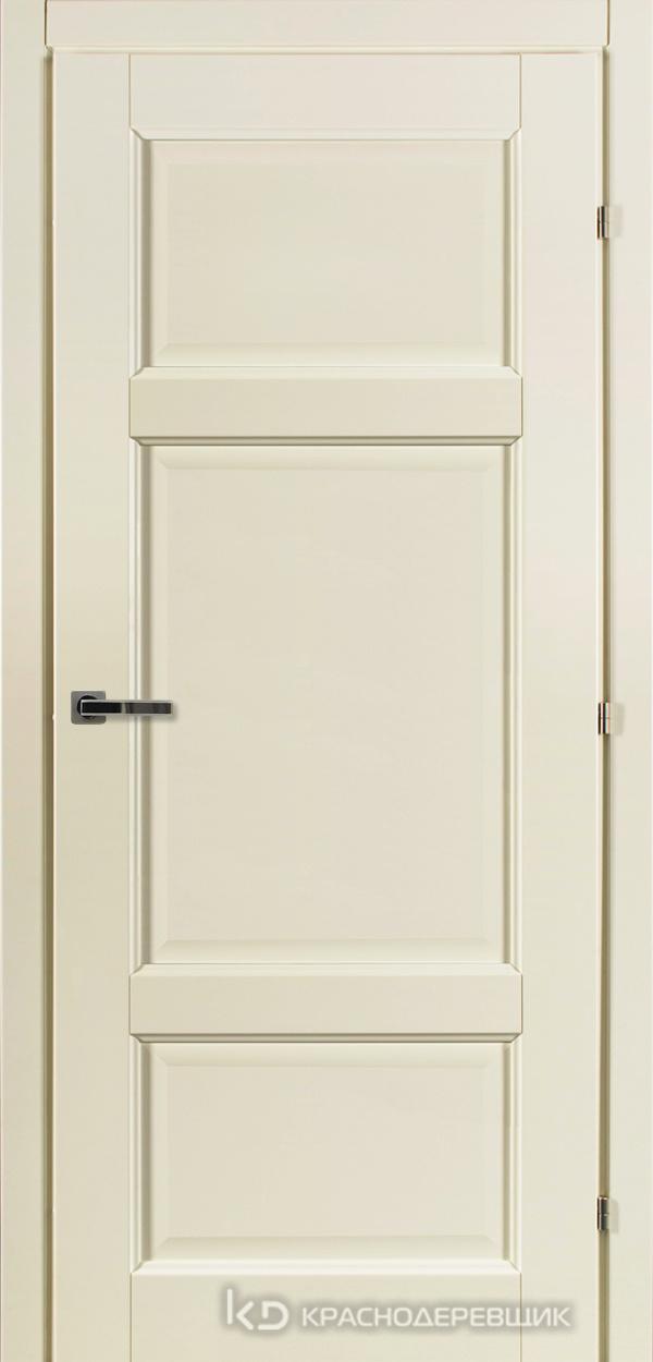 6000 Слоновая Кость CPL Дверь 6343 ДГ 21- 9 (пр/л), с фурн.
