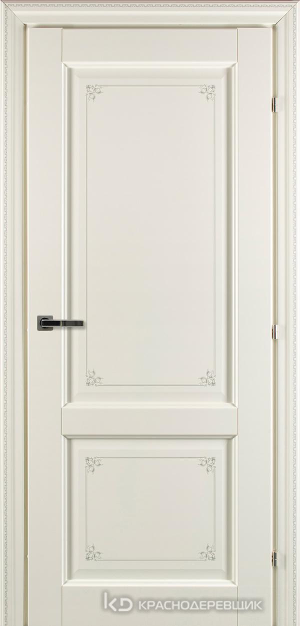 6000 Слоновая костьПЕЧАТЬ CPL Дверь 6323 ДГ 21- 9 (пр/л), с фурн.