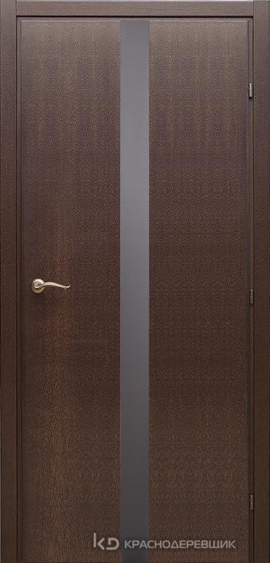 7000 ДубКофе Дверь 7306 ДО 21- 9 (пр/л), с фурн., Lacobel